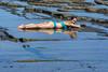 reflection (Greg Rohan) Tags: people australia nsw southcoast aqua blue bikini costume woman girl lady sea water reflection d750 nikon nikkor 2018 beach