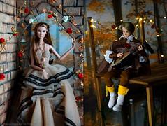 AutumnBallad2 (Ermilena Puppeteer) Tags: doll dioramascale16 diorama fashiondolls fairytale giselle integrity integritytoys nuface