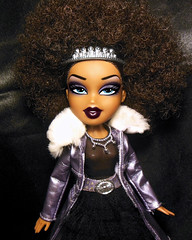 Accelerate, c'mon babe; Pick up your speed (Bratzjaderox™) Tags: princess sasha iconic legend fashion diva afro natural icon bratz doll punk rock baddie