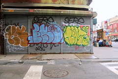 kser eno post (Luna Park) Tags: ny nyc newyork graffiti lunapark manhattan kser irak eno post vsop