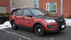 Coquitlam Fire & Rescue Car 6 (Canadian Emergency Buff) Tags: car 6 c6 chief ford interceptor utility firedepartment firedept british columbia canada cfes cfd