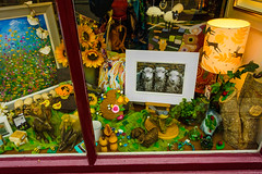 Sheep In The Shop (Harry2010) Tags: cockermouth window display england shop store crafts artsandcrafts