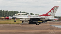United States Air Force General Dynamics F-16DJ Fighting Falcon 91-0479-2 (benji1867) Tags: united states air force general dynamics f16dj fighting falcon 910479 riat riat2017 riat17 royal international tattoo raf fairford airshow show display demo demonstration 2017 17 aeriel team nellis afb base thunderbirds 57th wing klsv nv nevada avgeek avporn aviation jet fighter trainer bomber strike aircraft usaf america fly flight flying