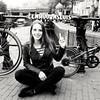 UnicornLock (BphotoR) Tags: daughter amsterdam blackwhite bicycles lock eenhoornsluis einhornschleuse unicornlock unicorn netherlands