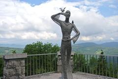DSC_4208 (MaddaDB) Tags: santo monte statua francesco san