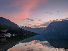 S i l e n c e (davYd&s4rah) Tags: bohinjskojezero bohinjsko jezero lake bohinj slovenia sunset sonnenuntergang mountains clouds sun longexposure langzeitbelichtung tripod depth tranquil evening moody spring olympus em10markii m1240mm f28 olympusm1240mmf28 triglavnp europe boat boathouse shore ƒ90 alps julischealpen mirror spiegelung