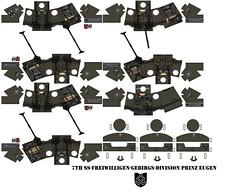 7th SS-Freiwilligen-Gebirgs-Division Prinz Eugen (Desert fox Customs) Tags: ww2 wwii waffenss prinz eugen gebirgsjäger decals custom lego feldgraü
