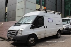 Ford transit (anthonymurphy5) Tags: bt btfs whitevan van ford photography outside bx13lvk fordtransit btfsfacilitiesservice cardiffcitycentre 180518