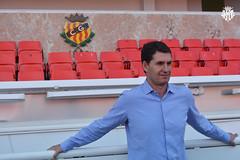 José Antonio Gordillo, presentat com a nou tècnic del Nàstic