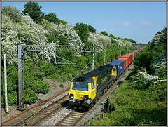 70006, Long Buckby (Jason 87030) Tags: freightliner ts location lineside longbuckby wcml loop northampton northants northamptonshire veg green bridge fugly ugly 70006 boses containers soton southampton traine frecht cargo 4m58 may 2018 photo photos pic pics socialenvy pleaseforgiveme picture pictures snapshot art beautiful picoftheday photooftheday color allshots exposure composition focus capture moment