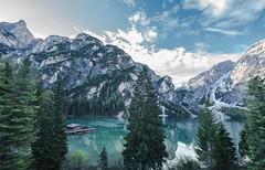 Lago di Braes 17-18-19 mai 2018 Dolomites Italie (gri_mountainlakes) Tags: magical reflections green morning dolomites stopfilter6 greatangle14mn lagodibraies