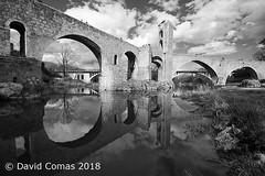 Besalú (CATDvd) Tags: catalonia catalunya march2018 catdvd davidcomas httpwwwdavidcomasnet httpwwwflickrcomphotoscatdvd nikond70s architecture arquitectura building edifici edificio besalú bridge pont puente