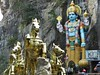 Ramayana Cave Entry (m_artijn) Tags: ramayana cave rama sita entry batu kuala lumpur mys statue horse