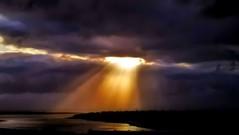 From Iceland. (Tóta. 27.12.1964.) Tags: natureiceland sunset clouds water sky iceland ísland kópavogur