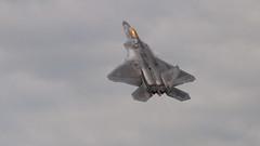 Raptor takeoff (Tony Howsham) Tags: jet fast fairford force states united usaf takeoff raptor f22 airshow tattoo air international royal riat 150500 sigma 70d eos canon