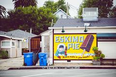 eskimo pie [Day 3431] (brianjmatis) Tags: slo eskimopie building photoaday advertisement art highstreetdeli sanluisobispo painting project365 california unitedstates us