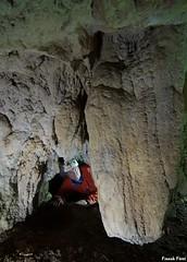 Pendeloque dans la Grotte de la Cascade du Moulin de la Roche - Fertans (inedite) (francky25) Tags: pendeloque dans la grotte de cascade du moulin roche fertans inedite karst franchecomté doubs explo prospection découverte