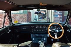 Gilbern Genie Interior (cmw_1965) Tags: gilbern genie dashboard dash instrument panel interior cockpit classic sports car welsh dragon llantwit fardre gauges dials