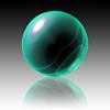 Green Sphere (myphotomailbox) Tags: art green sphere photoshop creations macro bol groen pse14
