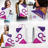 6 Shopping Bag Mockup (OOSTA21) Tags: advertising bag bags branding business clean color corporate editable fashion foil mockup modern pack package packaging paper photorealistic realistic sale shop shopping shoppingbag template white
