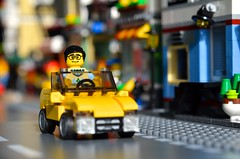 Cruising (linda_lou2) Tags: 365the2018edition 3652018 day115365 25apr18 365toyproject 115365 april2018 lego minifigure minifig toy car