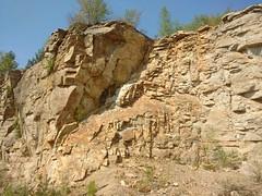 Jedlice quarry (nesihonsu) Tags: wzgórzastrzegomskie wzgórzarogoźnickie przedgórzesudeckie sudeticforeland lowersilesia dolnyśląsk dolnośląskie geology geologiapolski geologia geotourism geoturystyka geologyofpoland quarry foresudeticblock jelice gęsiegóry kamieniołom