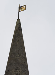 St Peter's Church (badger_beard) Tags: ap weathervane peterhouse st saint peter peters church castle hill cambridge south cambridgeshire cambs city spire