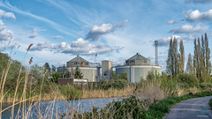 Treatment Works - Exeter Ship Canal (pm69photography.uk) Tags: exeter exetercanal devon canal sewageworks hdr aurorahdr2018 southwest sony sonya7r3 sonya7riii loxia loxia50mm zeissloxia loxialens clouds atmospheric atmosphere 50mm
