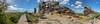 Teufelsmauer (diwan) Tags: germany deutschland sachsenanhalt saxonyanhalt harz harzvorland thale weddersleben teufelsmauer felsen königstein landschaft landscape place sandstein textur natur panoramix panorama stitch ptgui sigma35mmf14dghsmart canoneos5dmarkiv canon eos 2018 geotagged geo:lon=11083219 geo:lat=51757636
