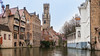 Belfort... (keriarpi) Tags: fairytale town bruges brugge belgium travel traveling travelling holiday unesco cityscape city pano panorama world heritage water building sky river architecture house trip window wall road boat tower