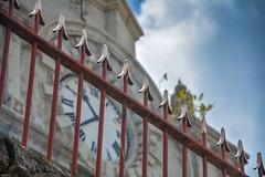 ... time locked ... (wolli s) Tags: antigua antiguaundbarbuda caribbean cathedral fence hff stjohn church saintjohns saintjohn ag saint john