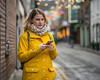 A relationship without trust is like a cell phone with no service, all you can do is play games. - Anonymous (Lorrainemorris) Tags: naturallight streetpeople dublincity artisticphotography colours cellphone raincoat yellow 7rm2 zeiss sony7rm2 streetportrait streetphotography candid