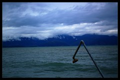The Details : Bow (Storyteller.....) Tags: details bow sky sea shower clouds blue mountains beach