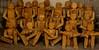 Tuttinposa (versione Pinocchio) (Colombaie) Tags: tuscia alto lazio provincia viterbo viterbese gita ponte 1maggio studio artista contemporaneo scultore legno statue sculture albertomorucci