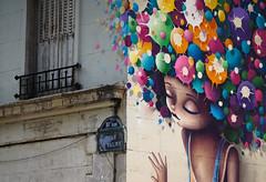 Lumière. (Adrien GOGOIS) Tags: paris canal saint martin nikon nikkor ais 105mm f25 art artist color street rue corner paint wall building sony vintage old classic prime manual lens