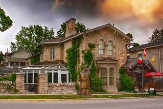 Elora Ontario - Canada - Breadalbane Inn - Heritage Building