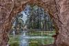PARC SAMÀ (juan carlos luna monfort) Tags: cambrils tarragona hdr lago cascada cueva nikond7200 sigma1750 calma paz tranquilidad