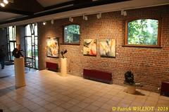 IMG_9431 (Patrick Williot) Tags: exposition vernissage ecuries sculpteur michal peintre genevieve nicolas
