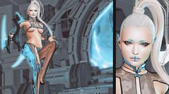 Modern Magic (riowyn.slife) Tags: cyberpunk bodylanguage r2 r2fashion future scifi neoshoda insilico secondlife collabor88 we3rp