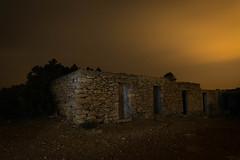 casetes cala saona (rubenzmata) Tags: formentera balears isla island mediterraneo mediterranean night dark nocturna