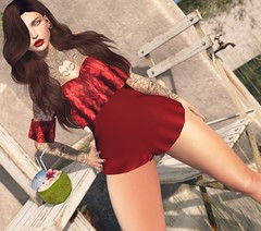 # Mili # 4395 (Mili Miklos (Inventory Mess Blog/Mili Mix)) Tags: empire hellodave chicchica blush likeme littlebones collabor88 vistaanimations ysys ebento maitreya swallow letistattoo