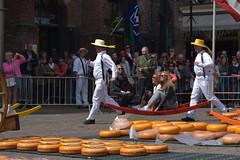 Special Cheese delivery demo @ Alkmaar, NLD. (Eadbhaird) Tags: cheese alkmaar nl demonstration market