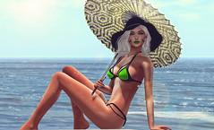 Fun in the Sun (riowyn.slife) Tags: ay cybernetics krova beach truth izzie sale summer bikini bodylanguage swimwear sun