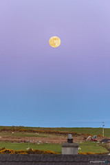 Moon Rise (gmrphoto) Tags: canon spring photography nature scotland isleoflewis outerhebrides eos landscape stornoway beltofvenus manfrotto nighscapes sky skyscapes evening dark dusk sunset horizon ethereal dramaticsky phenomenon atmosphere infinity moon fullmoon pinkmoon