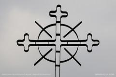 Aim the right way (srkirad) Tags: cross church christianism orthodox aim serbia srbija lelić monastery valjevo cloudy
