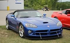 Dodge Viper SRT10 Roadster (SPV Automotive) Tags: dodge viper srt10 roadster convertible exotic sports car supercar blue