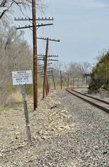 Santa Fe code lines. (Machme92) Tags: santafe american atsf railroad railfanning railroads railfans rails rail row railroading bnsf burligrton bn