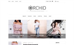 orchid-blogger-template (waqasaziz1995) Tags: wordpress websites wedding designs graphics seo