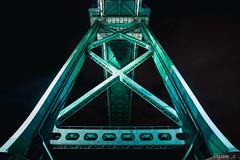 Lions Gate Bridge (samquattro) Tags: lionsgatebridge vancity vancouver vancitybuzz vancouverisawesome vancityhype vancitynight