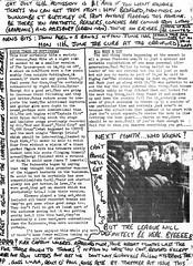 Back page (stillunusual) Tags: suspectdevice fanzine musicfanzine punkfanzine indiefanzine punk postpunk indie 1970s 1979
